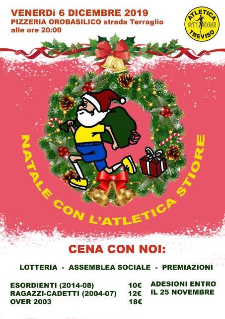 Cena Natale 2019 ridimensionata