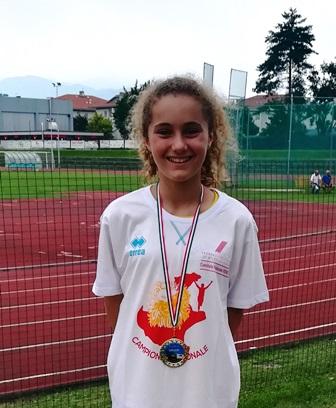 Elisa Campionessa Regionale 2018 di marcia
