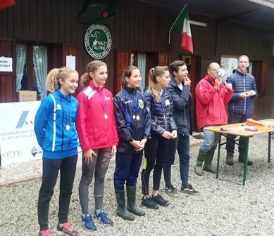 Elisa Campionessa provinciale cross